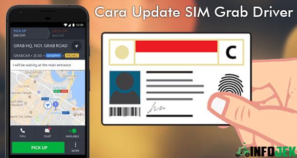 Cara Update SIM Grab Driver Terbaru dari Syarat Ketentuan