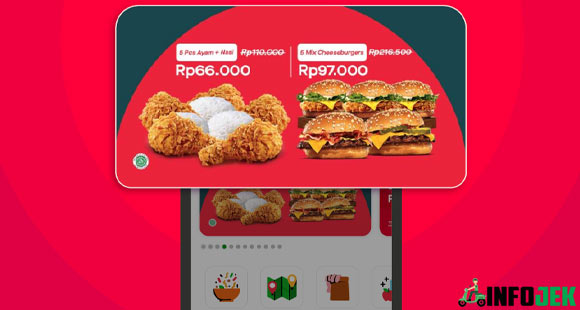Fungsi GoFood Top Banner