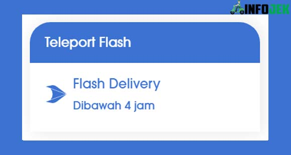 Teleport Flash Delivery