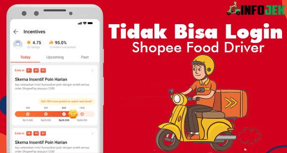 Tidak Bisa Login Shopee Food Driver Penyebab dan Solusi