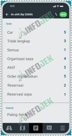 1 Pilih Tab Order