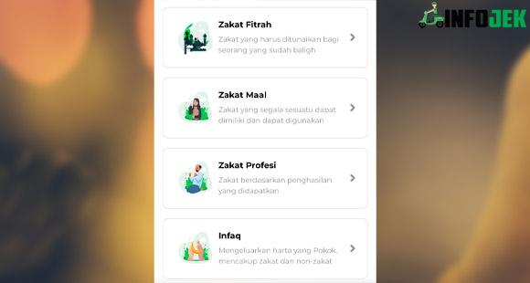 Layanan Zakat Grab