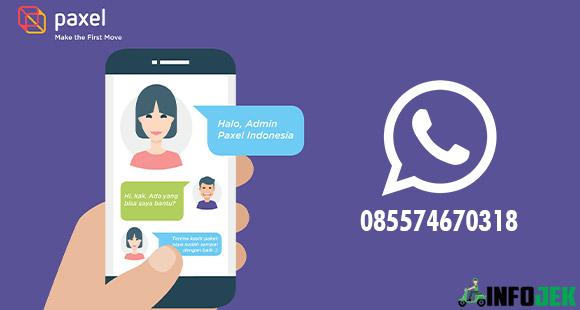 Lewat WhatsApp Resmi Paxel