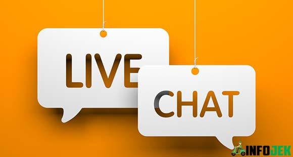 Melalui Live Chat Shopee