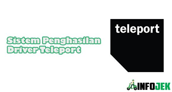 Sistem Penghasilan Driver Teleport