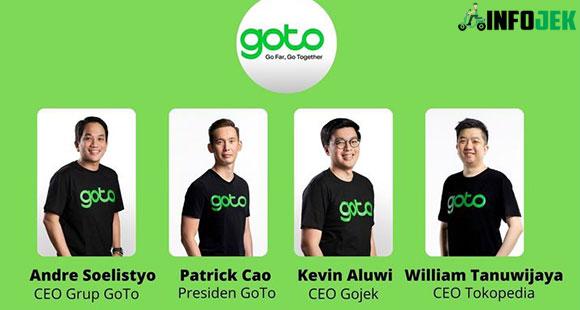 Susunan Manajemen GoTo Grup