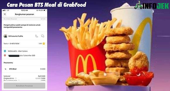 Cara Pesan BTS Meal di GrabFood dan Ketentuannya