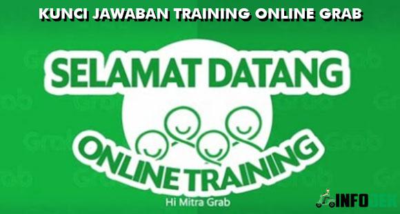 Kunci Jawaban Training Online Grab Terbaru