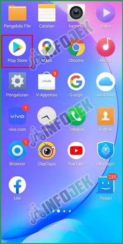 1 Buka Google Play Store