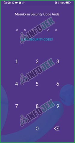 2 Masukkan Kode Keamanan
