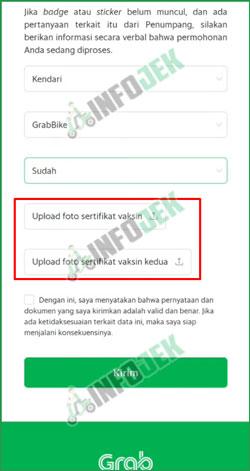 7 Upload Sertifikat