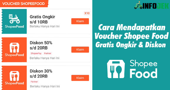 Cara Mendapatkan Voucher Shopee Food Terbaru
