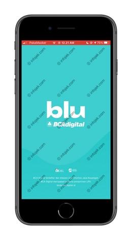 1 Buka Aplikasi Blu BCA