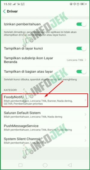 4 Pilih FoodyNotify