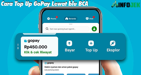 Cara Top Up GoPay Lewat Blu BCA dan Biaya Admin