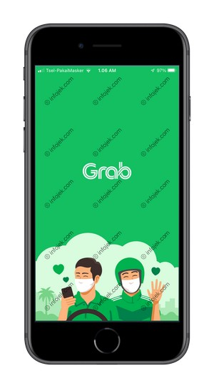1 Masuk Aplikasi Grab