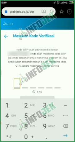 3 Masukkan Kode OTP