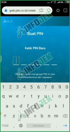 6 Buat PIN