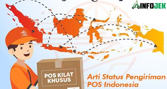 Arti Status Pengiriman POS Indonesia dan Urutan Pengiriman
