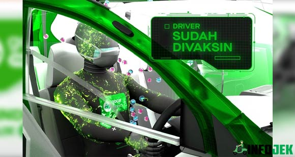 Mitra Driver 100 Tervaksinasi COVID 19
