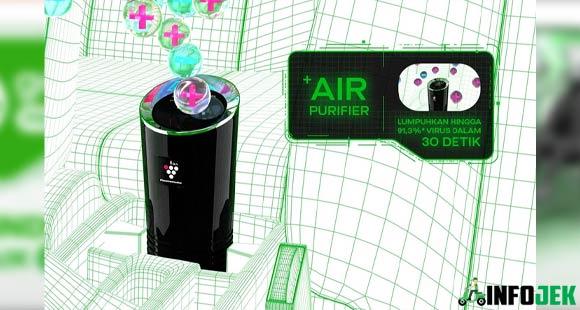 Mobil GoCar Protect Punya Air Purifier Sharp