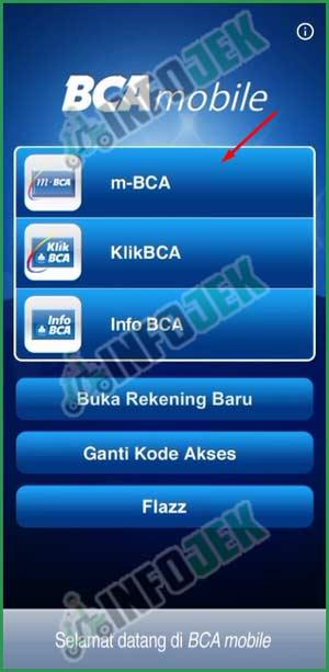 7 Pilih Menu m BCA