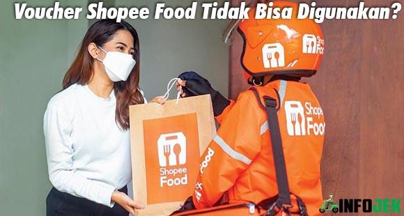 Penyebab Solusi Voucher Shopee Food Tidak Bisa Digunakan