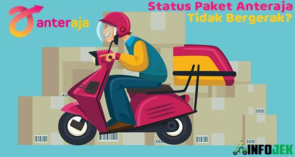 Status Paket Anteraja Tidak Bergeraak Penyebab Solusi